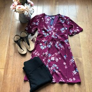One clothing Xs floral cardigan